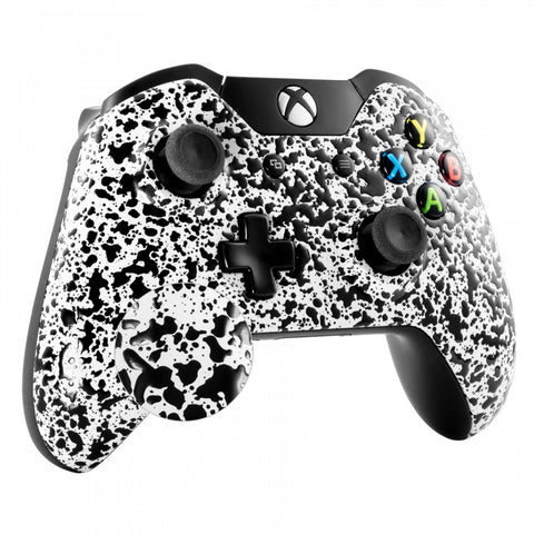ConGran White Anti Slip Face Plate Front Shell Custom Kits for Xbox One Controller - XOMSF08