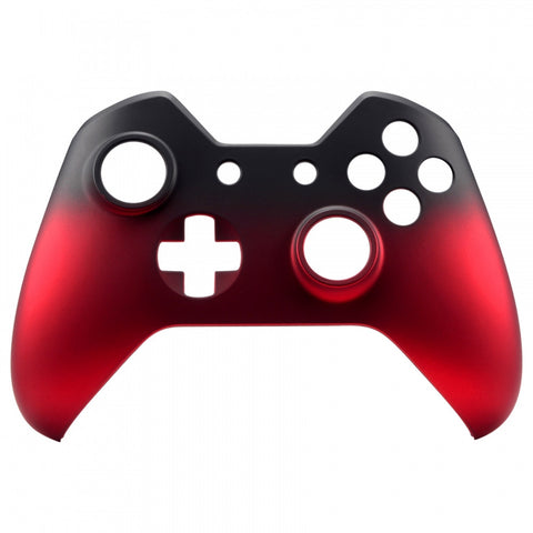 Shadow Frosted Red Face Plate Front Shell Custom Kits for Xbox One Controller - XOMSF19