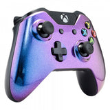 Purple & Blue Chameleon Face Plate Front Shell Custom Kits for Xbox One Controller - XOMSF21