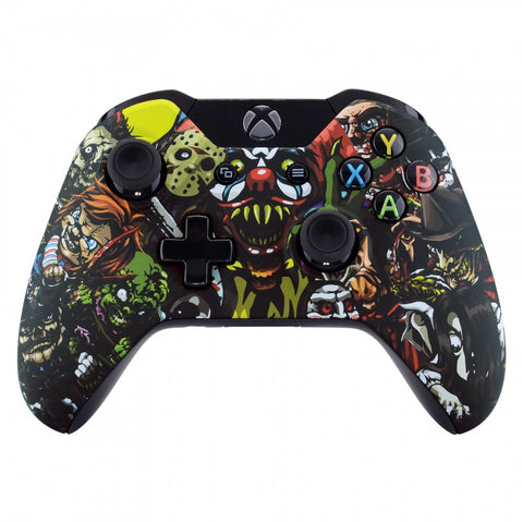 Scary Party Face Plate Front Shell Custom Kits for Xbox One Controller - XOT050M