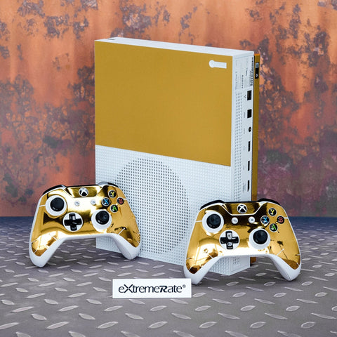 Full Faceplates Skin Stickers for Xbox One S Console Controller- YSXBS0010
