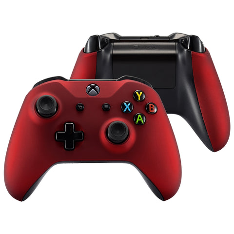 Red Customized Front Housing Shell Cover Panel for Xbox One X and One S Remote Controller - ZSXOFX01