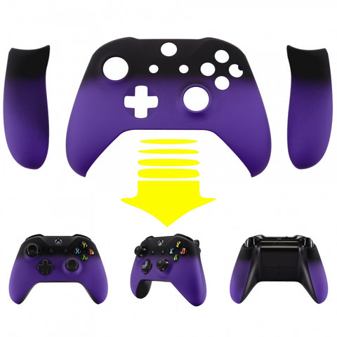 Shadow Purple Top Housing Shell Cover Panel for Xbox One X & One S Game Controller - ZSXOFX11