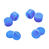 8 Blue Silicone Rubber Precision Platporm Raised Analog Sticks Thumb Grips for PlayStation 4 PS4 PS4 Slim PS4 Pro Thumbsticks-ZXBJ1232