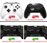 Textured Black Housing Panel Side Rails Handles Repair for Xbox One Controller - XOJ1104