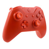 Matte Orange Full Shell with Buttons Custom Kits for Xbox One Controller - XOM04