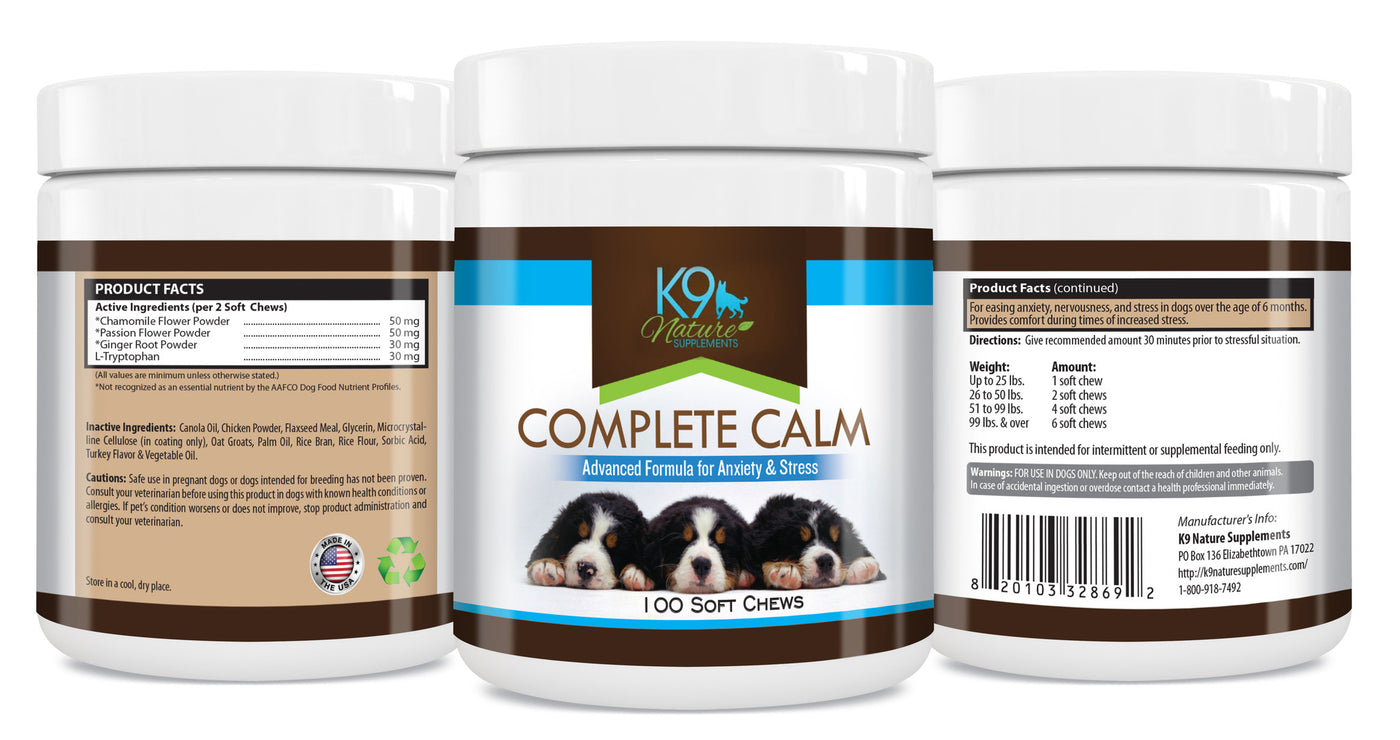 calming aids for dog anxiety