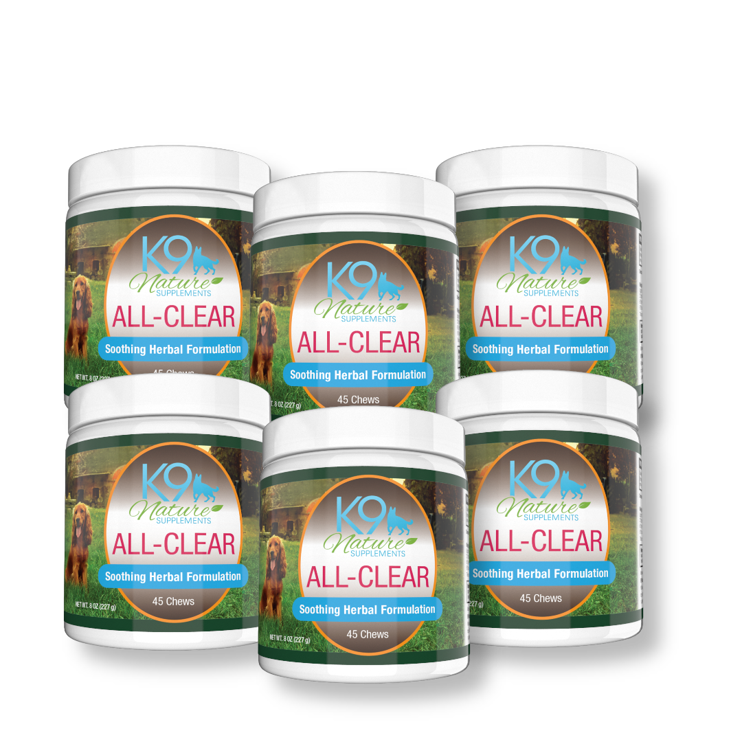 ALL-CLEAR DOG ALLERGY SUPPLEMENT 6 Pack 35% OFF