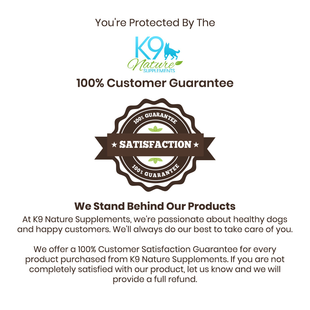 k9-nature-supplements-customer-satisfaction-guarantee