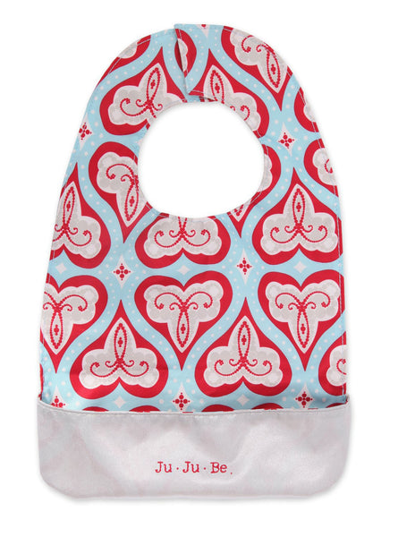Ju-Ju-Be Be Neat Bib Sweet Hearts