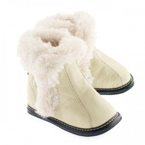 Jack & Lily Boots cream, 12 - 18 months