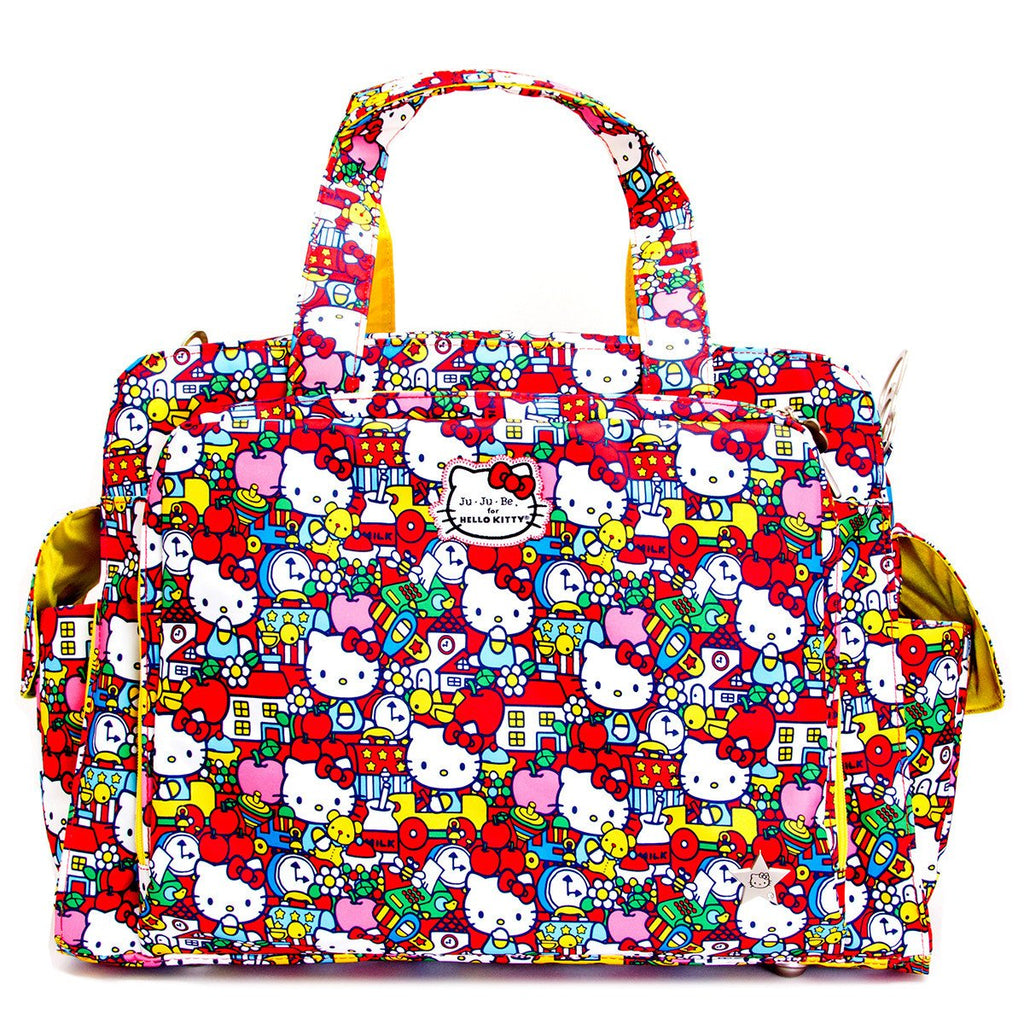 Ju-Ju-Be for Hello Kitty Be Prepared changing bag Tick Tock