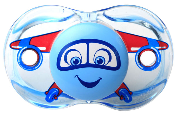 RaZ-Baby Keep-it-kleen pacifier Adam Airplane