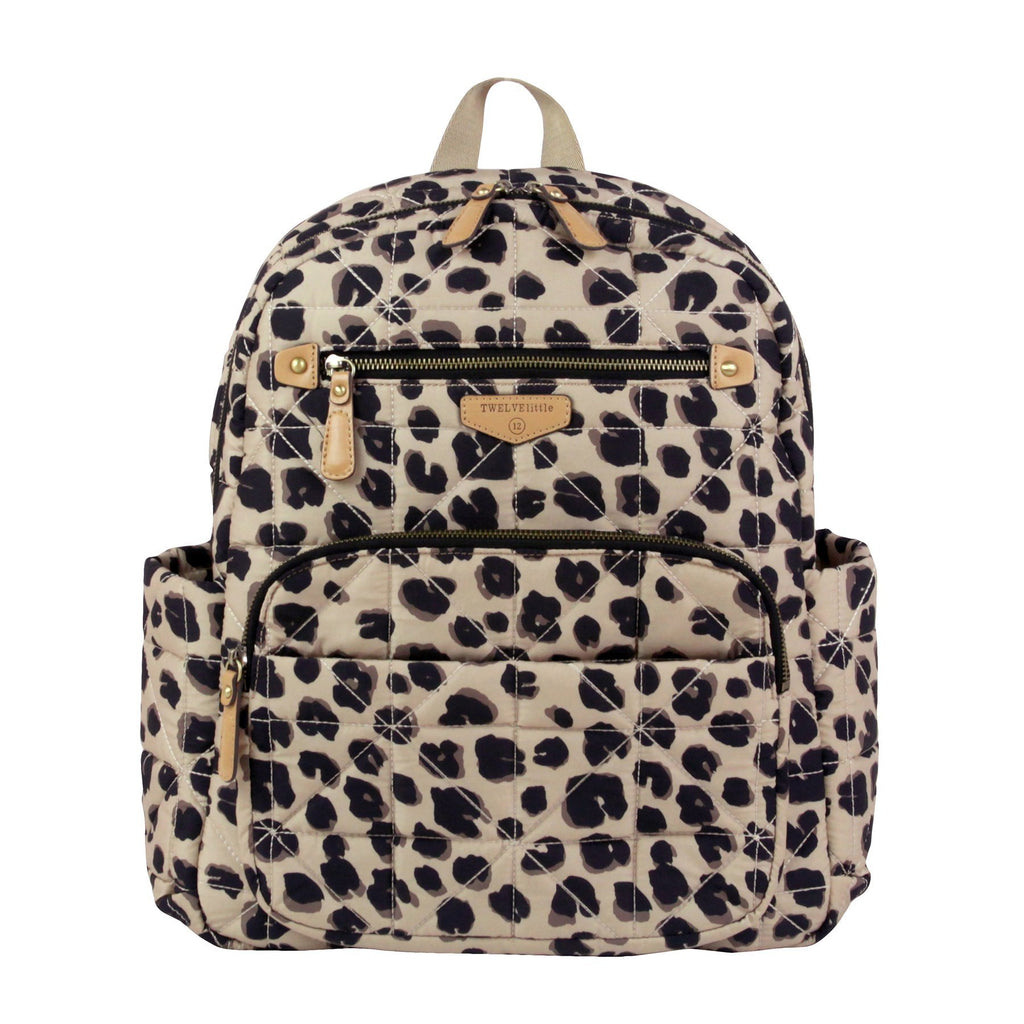 TWELVElittle Companion Backpack hoitoreppu Leopard