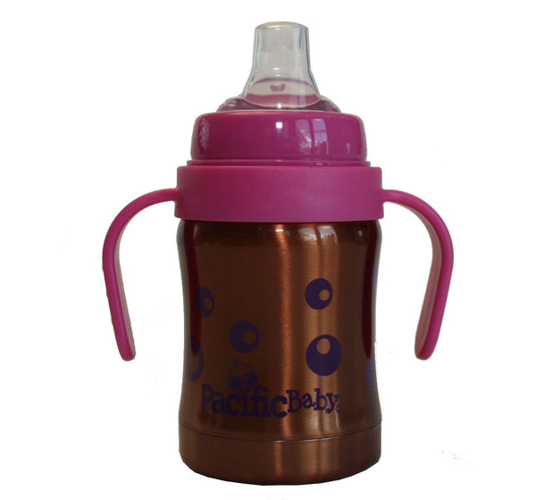 Pacific Baby thermos sip cup 120 ml Bubbles
