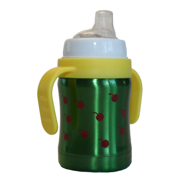 Pacific Baby thermos sip cup 120 ml Cherries