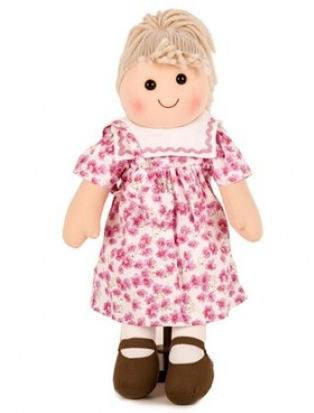 Pomme-Pidou traditional rag doll Claire, 25 cm