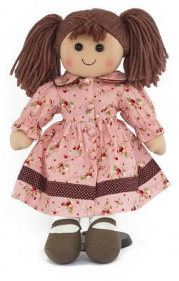 Pomme-Pidou traditional rag doll Jo, 25 cm