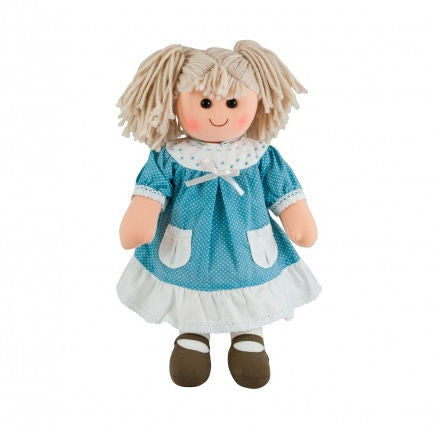 Pomme-Pidou traditional rag doll Marie-Laure, 25 cm
