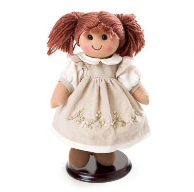 Pomme-Pidou traditional rag doll Noah, 25 cm