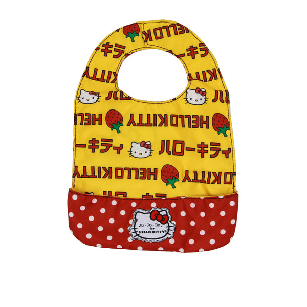 Ju-Ju-Be for Hello Kitty Be Neat Bib Strawberry Stripes
