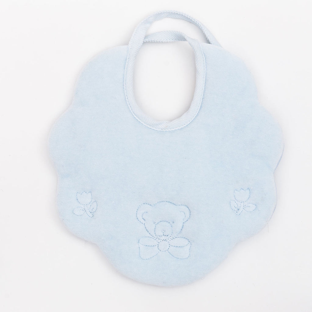 Fortunino Deluxe bib Orsetto in Blue