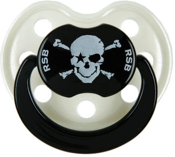 Rock Star Baby pacifier Pirate Black Pearl 3 - 36 months