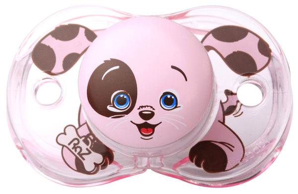 RaZ-Baby Keep-it-kleen pacifier Pink Puppy