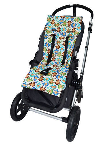 Tivoli Couture luxury stroller liner Silly Monkeys