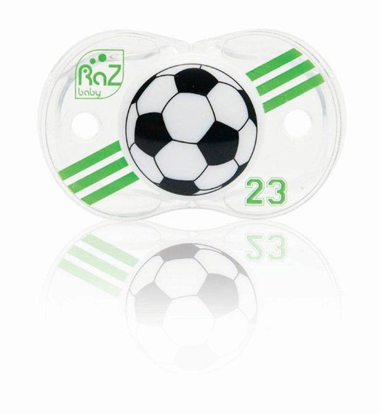 RaZ-Baby Keep-It-Kleen pacifier Soccer