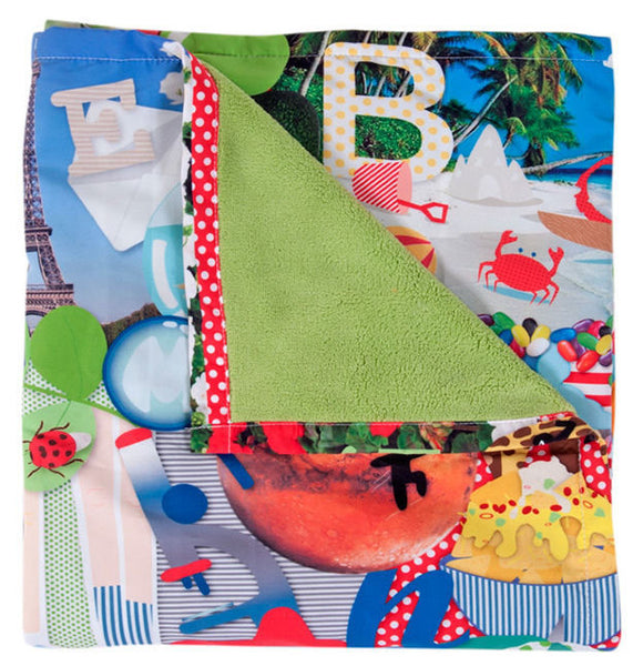 Weegoamigo ABC Adventure Blanket