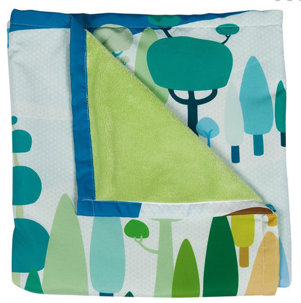 Weegoamigo Woodland Adventure Blanket