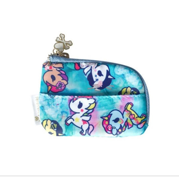 Tokidoki Watercolor Paradise Zip Coin Purse