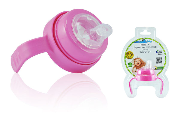 Pacific Baby Sip Cup kit, Pink