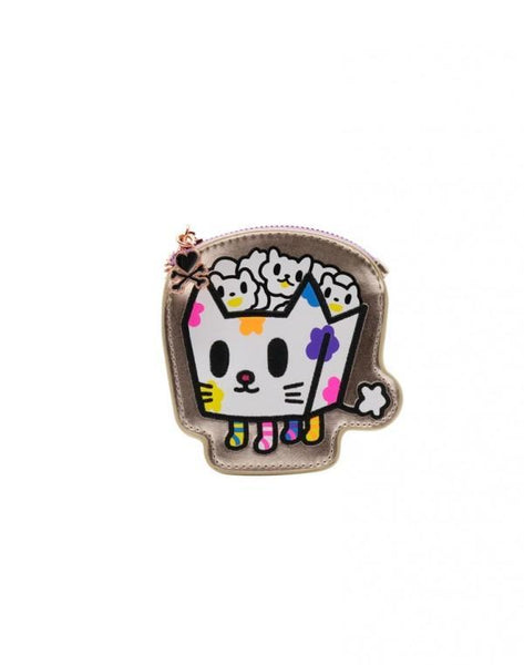 tokidoki Camo Kawaii Kitty Pop Coin Purse