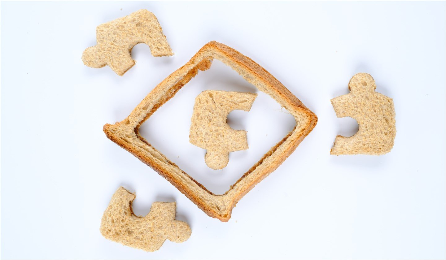 Fun Shaped Wholemeal Sandwiches