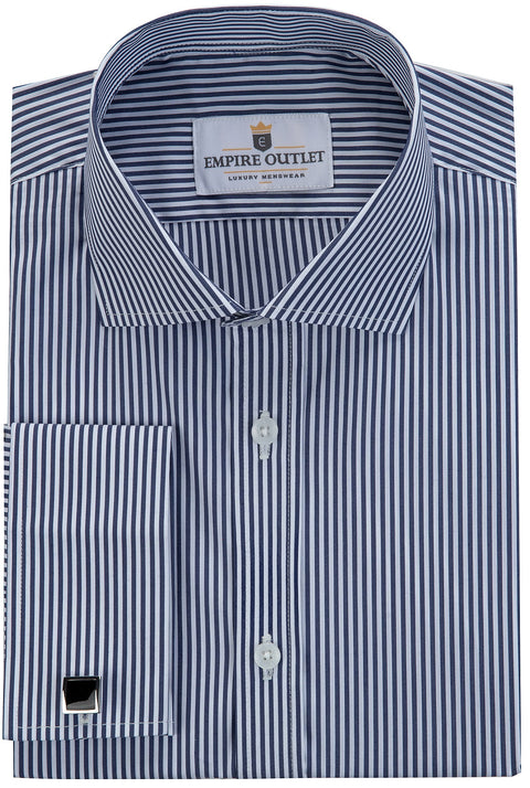 Askerton - STRETCH Striped Long Sleeve Shirt