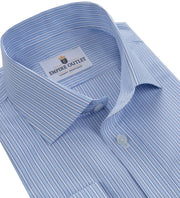 Bowes - COOLMAX® Striped Long Sleeve Shirt