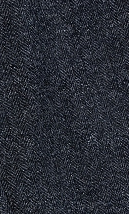 Charcoal Herringbone Tweed Tie