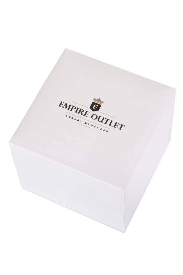Black Rectangle Cufflinks in a gift box