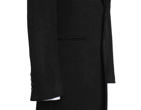 Black Cashmere Coat
