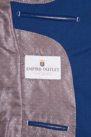 Royal Blue Empire Elite  3 Piece Suit