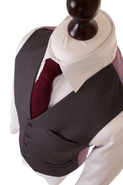 Middle Grey Empire Essential Waistcoat