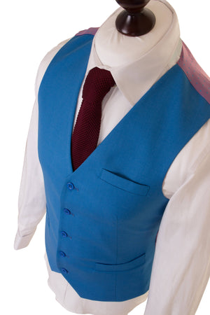 Light Blue Empire Essential Waistcoat