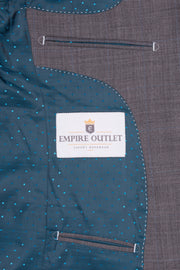 Grey Prince of Wales Empire Elite  3 Piece Suit