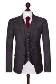Dark Grey Pinstripe Empire Elite