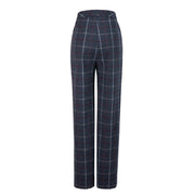 Charcoal Tattersall Tweed 3 Piece Womens