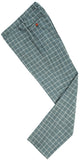 Light Green Windowpane Tweed Trousers