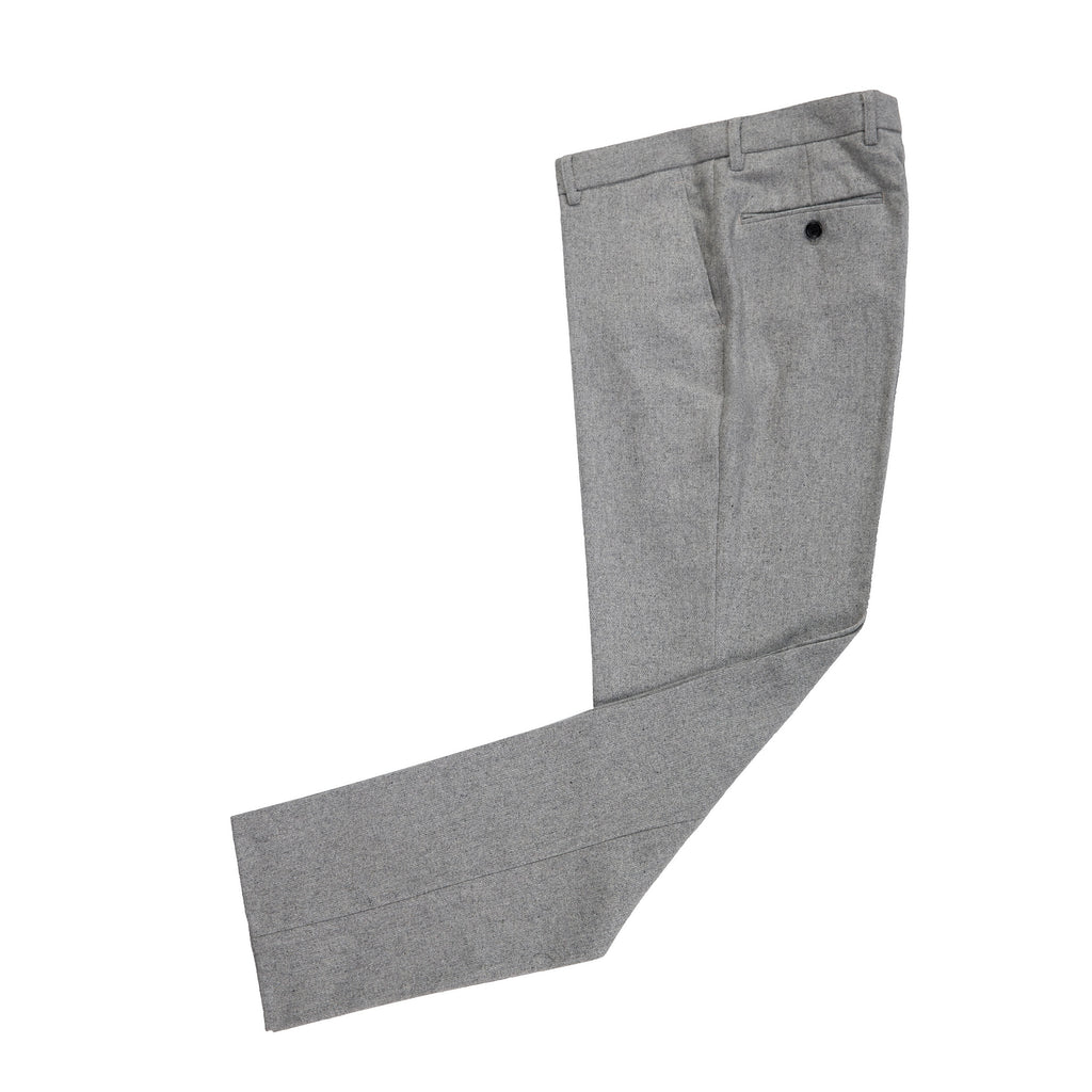 Light Grey Twill Tweed Trousers