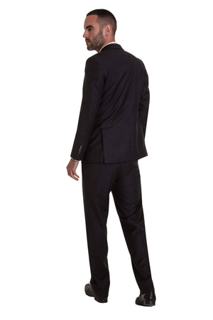 Charcoal Pinstripe Empire Elite Trousers